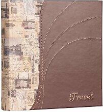 Reise-Fotoalbum / Einsteckalbum 15,2 x 11,4 cm