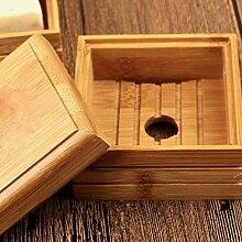 Reise Seifenschale Bambus