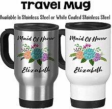 Reise-Tasse, personalisierbar,