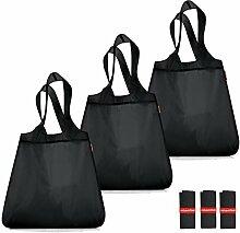 reisenthel Set: 3X Mini Maxi Shopper (3X Black)