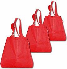 reisenthel Set: 3X Mini Maxi Shopper (3X red)