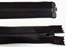 Reißverschluß Kunststoff teilbar für Jacken 175 cm schwarz