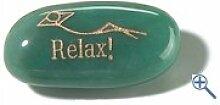Relax! - Aventurin grn Handschmeichler aus echtem