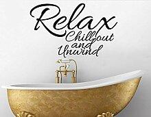 Relax Chill Out Unwind Spruch Spruch Spruch