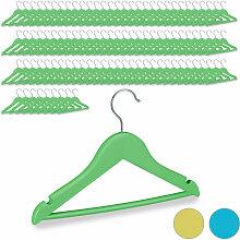 Relaxdays - 100 x Kleiderbügel Kinder, 360°