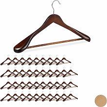 Relaxdays - 40 x Anzug Kleiderbügel im Set,
