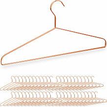 Relaxdays - 48 x Kleiderbügel, für Hemden,