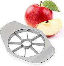 Relaxdays Apfelschneider, 8 Apfel Spalten, für
