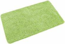 Relaxdays Badteppich Badematte Fußmatte Duschvorleger 60 x 100 cm Mikrofaser (Mint)