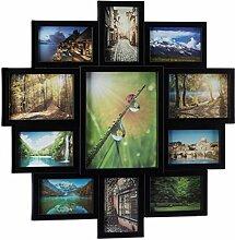 Relaxdays Bilderrahmen Collage, Bildergalerie für