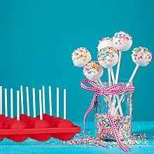 Relaxdays Cake Pop Formen, Silikon Backform, für