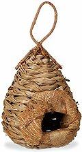 Relaxdays Deko Vogelhaus aus Kokosblättern,
