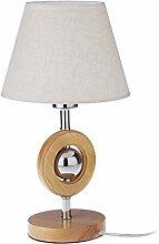 Relaxdays Design Tischlampe, mit Stromkabel,