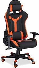 Relaxdays Gaming Stuhl XR10, Schreibtischstuhl f.