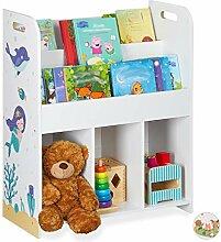 Relaxdays Kinderregal, Spielsachen & Bücher,