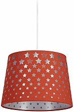 Relaxdays Kinderzimmerlampe Sterne, hängende