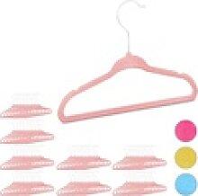 relaxdays Kleiderbügel 80 x Kleiderbügel Kinder