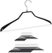 relaxdays Kleiderbügel Anzug Kleiderbügel