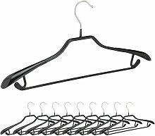 Relaxdays - Kleiderbügel für Anzüge, 10er Set,