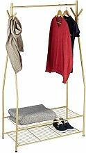 Relaxdays Kleiderständer mit Schuhablage SANDRA,