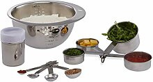 Relaxdays Küchen Set 10-tlg., Mess Cups,
