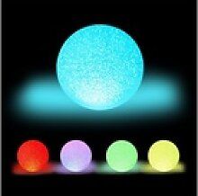 relaxdays LED Kugelleuchte LED Kugelleuchte mit