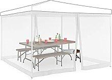 Relaxdays Moskitonetz für 3 x 3 m Pavillon, 2