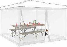 Relaxdays - Moskitonetz für 3 x 3 m Pavillon, 2
