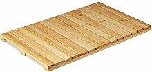 Relaxdays, naturfarben Bambusmatte, für