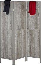 Relaxdays Paravent 3-teilig, HxB 179 x 132 cm,