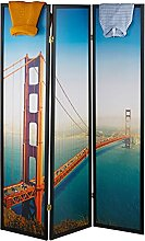 Relaxdays Paravent San Francisco, HxB 179 x 132