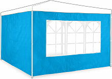 Relaxdays - Pavillon Seitenwand 2er Set, 2x3 m,