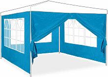 Relaxdays - Pavillon-Seitenwand, 4er Set, 3