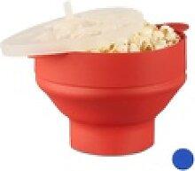relaxdays Popcorn-Pfanne 1 x Popcorn Maker Silikon
