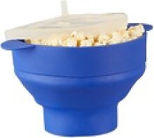relaxdays Popcornmaschine Popcorn Maker Silikon
