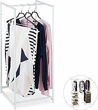 Relaxdays Regalsystem Kleiderständer mit
