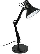 Relaxdays Schreibtischlampe, verstellbarer