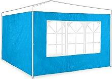 Relaxdays Seitenwand 2er Set, 2x3 m, Pavillonwand