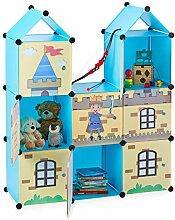Relaxdays Steckregal Kinderzimmer, coole