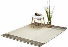 Relaxdays Teppich modern, Wohnzimmerteppich mit