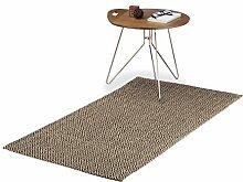 Relaxdays Teppichläufer mit Rauten-Muster,