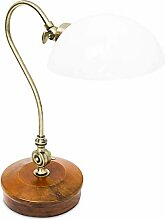 Relaxdays Tischlampe Jugendstil antik verstellbare