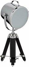 Relaxdays Tischlampe MOVIESTAR Tripod Lampe,