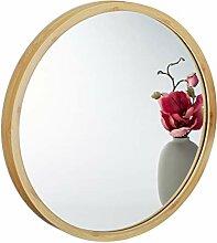 Relaxdays Wandspiegel rund, Spiegel zum
