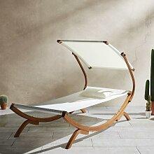 Relaxliege Curtys inkl. Sonnendach & Kissen
