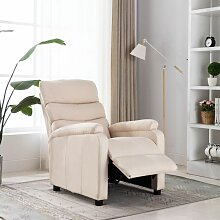 Relaxsessel Creme Stoff - Youthup