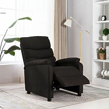 Relaxsessel Dunkelbraun Stoff - Youthup