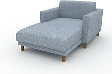 Relaxsessel Eisblau - Eleganter Relaxsessel: