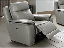 Relaxsessel Fernsehsessel elektrisch PAOSA - Leder