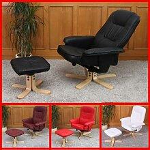 Relaxsessel Fernsehsessel Sessel mit Hocker M56